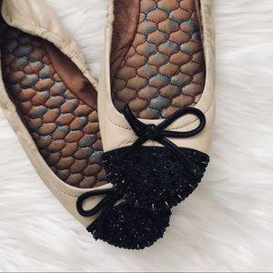 Sam Edelman Beatrix Spiked Toe Ballet Flats Size 6